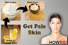 how to get pale skin 1