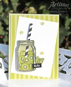 Tuttifrutti Schüttelkarte Stampin up