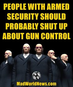 """Truth!!! It's not about the """"guns."""" It's about the """"control."""""""