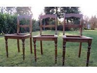 Antike Stühle Gründerzeit In Eiche Zum Restaurieren Berlin   Prenzlauer  Berg Vorschau