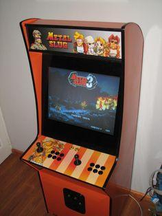 metal slug 1 arcade machine - Google Search   run and gun arcade ...