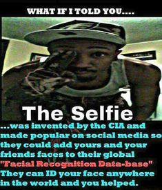 Haha, and contributes to international narcissism. The amount of selfies people take is truly freaky.