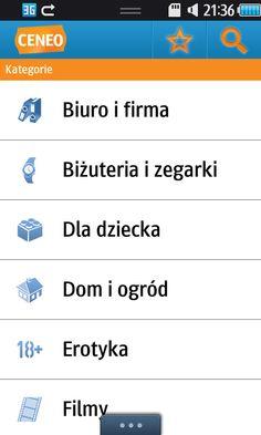 Aplikacja Ceneo na system Bada