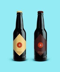 Jan baca belgian beers labels redesign