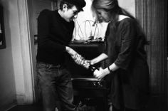 Bob Dylan with Suze Rotolo 1962
