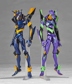 Kaiyodo Revoltech NO.EX Evangelion EVA-01 and Mark.06 Special Edition Action Figure featured on Jzool.com