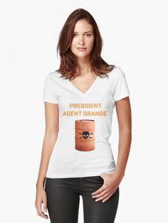 President Agent Orange Anti Trump Protest Resist Persist