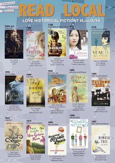 Historical Fiction LoveOzYA Poster