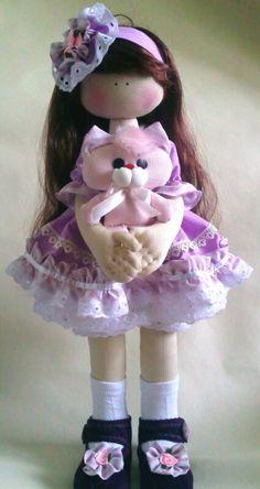 Soul of a rag doll: Вика-ежевика Bjd Doll, Doll Toys, Baby Dolls, Pretty Dolls, Beautiful Dolls, Doll Clothes Patterns, Doll Patterns, Fabric Toys, Sewing Dolls