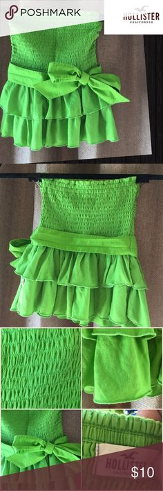 240f48932b Spotted while shopping on Poshmark  Hollister Strapless Tube Top With Sash!