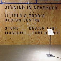 Identity & custom type design for Iittala & Arabia Design Centre Type Design, Helsinki, Centre, Identity, My Love, Decor, Decoration, Typography Design, Decorating