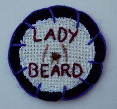 Lady Beard patch