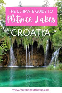 Tips for planning the perfect day trip to Plitvice Lakes Croatia // #autumn #foliage #hiking Magical Vacations Travel, Vacation Trips, Day Trips, Fun Adventure, Adventure Awaits, Travel Advice, Travel Guide, Cool Places To Visit, Places To Travel