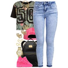 Untitled #1359 by power-beauty on Polyvore featuring New Look, MICHAEL Michael Kors, Michael Kors, H&M, ASOS and NIKE