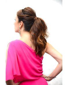 """33 curtidas, 3 comentários - Carla Barraqui (@carlabarraqui) no Instagram: """"Segura esse #ponytail incrivel da @renatanossar"""""""