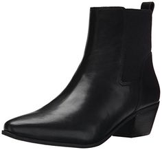 Nine West Women's Travers Leather Boot #shoes http://www.theshoespack.com/nine-west-womens-travers-leather-boot/  Nine West Women's Travers Leather Boot Kick your look up a notch with this stellar pointed toe chelsea boot. The elasticized upper ensures that the boot goes on and comes off with ease.