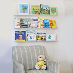 Perfect for displaying artwork, photographs or light books, these shelves can be adapted to suit your personal needs. You can paint them in your choice of colour using Plascon acrylic PVA. http://www.easydiy.co.za/index.php/make/591-make-a-decorative-bookshelf