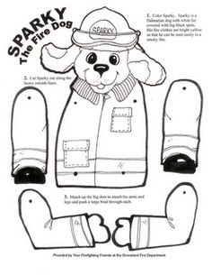 fireman color page family people jobs coloring pages color plate