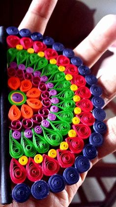 mandala Quilling Videos, Quilling Work, Quilling Jewelry, Quilling Paper Craft, Paper Crafts Origami, Paper Quilling Cards, Paper Quilling Tutorial, Origami And Quilling, Paper Quilling Designs