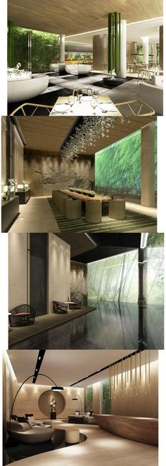 Amazing_3d_Visualization_Architecture_Bamboo Resort Hotel http://www.delightfull.eu/ feature wall