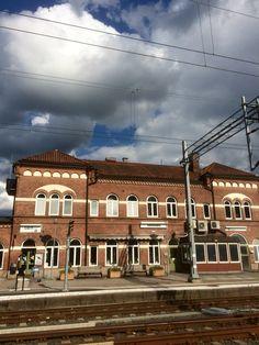 Värnamo Station. Sweden