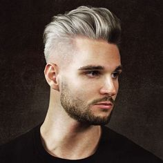 The pomp is a classic men's hairstyle that never goes out of style. That's because it looks so good and there are a plenty of pompadour haircuts to choose from. Here are 21 different ways #menshairstyles2018