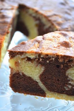 A Diary of Lovely: Recipe: Marble Cake Marble Cake Recipe Moist, Marble Cake Recipes, Cookie Recipes, Dessert Recipes, Desserts, How To Make Cake, Food To Make, Moist Yellow Cakes, Cherry Clafoutis