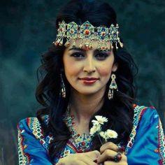 Algeria, Amazigh woman