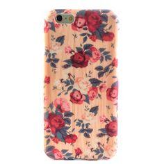 Vintage Wood Floral iPhone 6 Case