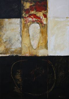 galleriacontempo:    olio e cera su tela 2011