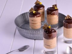 Receta | Bavaroise de café con crema de chocolate - canalcocina.es