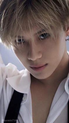 Trying to have a nice scroll through Pinterest when Taemin appears looking all sexy making me feel guilty to pin him as if I don't have enough pictures of him...❤️