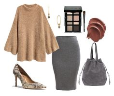 """""""Untitled #52"""" by sevans-i on Polyvore featuring Coach, Lucky Brand, Bobbi Brown Cosmetics and H&M"""