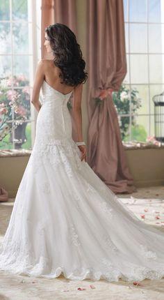 David Tutera for Mon Cheri Fall 2014 Bridal Collection