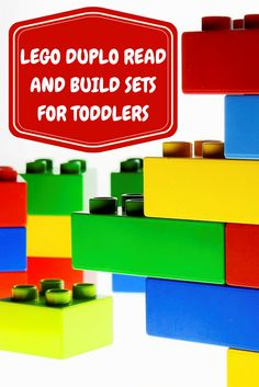 Find a super cute Lego Read and Build set that toddlers as young as 1 can enjoy while you read them a cute story!
