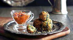 Palak kofta- indyjskie kuleczki z sera i szpinaku