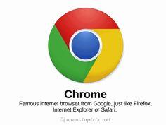 The chrome naming series. #chrome