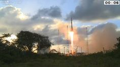 Space in Videos - 2014 - 04 - Sentinel-1A liftoff