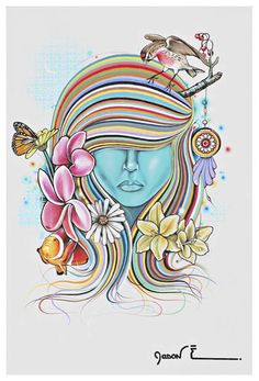 All Natural Cali Girl - Print for Drue