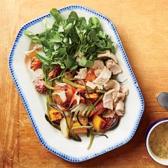 This healthy tuna salad is chock-full of yummy veggies like butternut squash, red potatoes, green beans, and radishes.