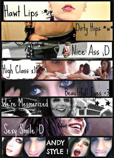 <3 Andy Style ;) lolol