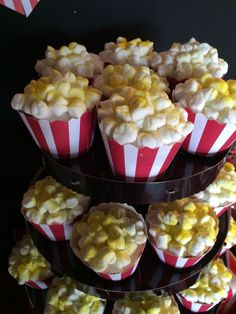 Popcorn Cupcakes By Bizzie Bee Creations By Iris