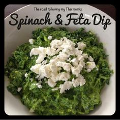 The road to loving my Thermomix: Spinach and Feta Dip