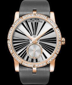 Cellini Jewelers Rober Dubuis Excalibur Jewelery18K RG automatic 36mm