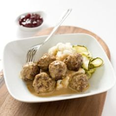 Meatballs have to be Sweden's national dish for a reason. What's the secret to making them light, springy, and flavorful?