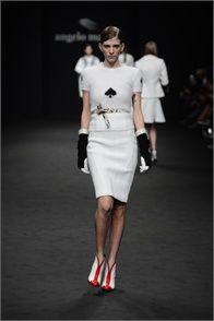 Sfilata Angelo Marani Milano - Collezioni Autunno Inverno 2013-14 - Vogue