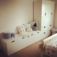 Hannelore s room #ikea #stuva #white #fermliving #laterlierdejuliette
