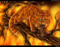 I love this! Fireheart saving Bramblekit