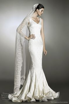Victorio & Lucchino #mariage #robe
