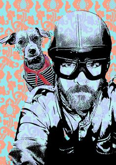 2 Friends    by Henri Banks  ::   Berlin, Germany. I love this, for some reason it reminds me of Ryan Dunn